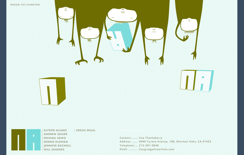 DasPlankton Berlin Webdesign Corporate Identity Character Design Illustration
